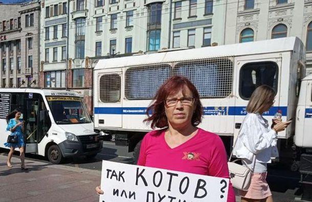Петербургской активистке грозит наказание занеуважение квласти