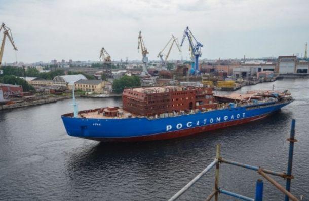 Балтийский завод построит еще два атомных ледокола