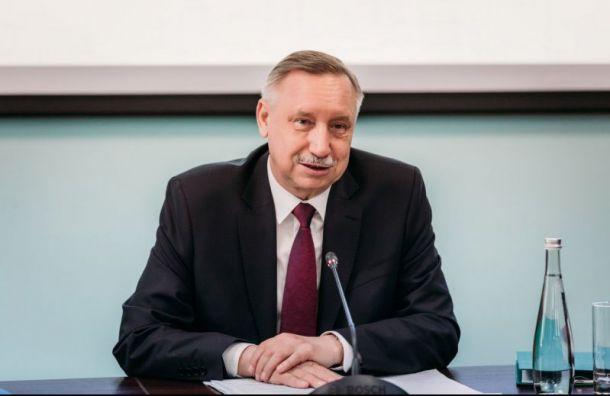 Беглов обнародовал предвыборную программу
