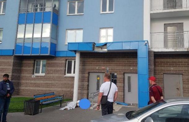 Женщину нашли мертвой удомаЖК «Квартет»