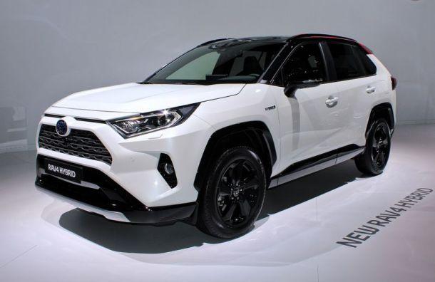 Завод Toyota вПетербурге прекратит выпуск кроссовера RAV4 соктября