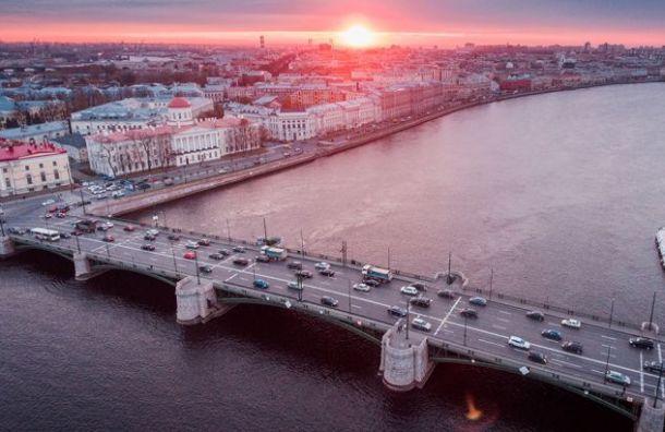 Биржевой мост отремонтируют засчет федерального бюджета