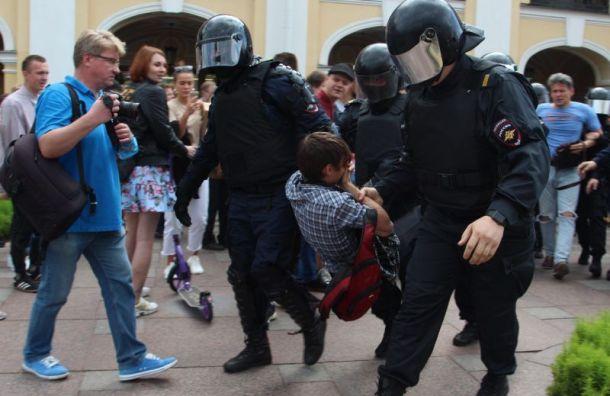 Пикеты зачестные выборы прошли вПетербурге