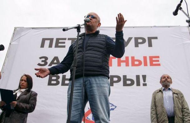 Резник намитинге взащиту Малиновки призвал к«восстанию сдиванов»