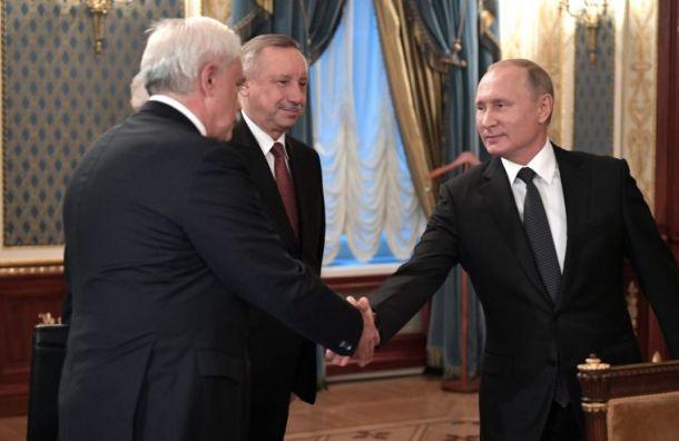 Песков: Путин назначил Беглова врио неиз-за принадлежности кпартии