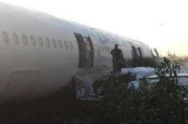Пилота аварийно севшего А321 благодарят заспасение пассажиров