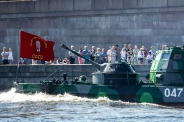 Главный парад наДень ВМФ переедет изПетербурга вСевастополь