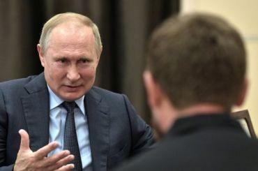 Самая красивая— вПетербурге: Путин поспорил сКадыровым омечетях