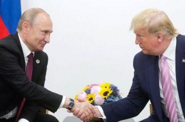Трамп предложил Путину помощь втушении лесных пожаров