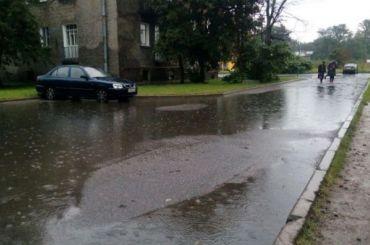 Водоканал перейдет наособый режим из-за грядущих ливней