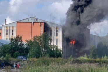 Спасатели эвакуировали 200 человек изздания бывшей фабрики «Рабочий»