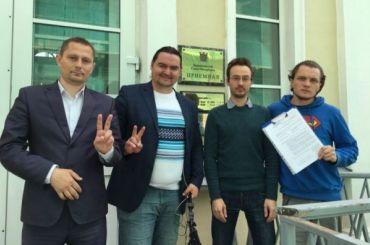Заявку намарш «Петербург против единороссов» подали вСмольный