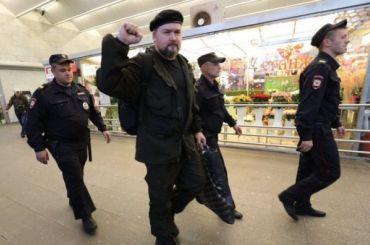 Активиста Вадима Казака задержали навыходе изметро