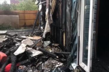 Пожар впоселке Парголово оказался прикрытием убийства