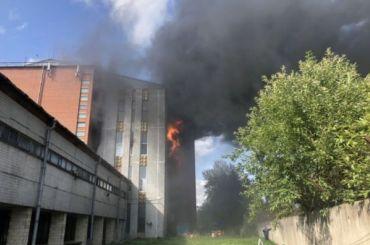 Появилась информация опострадавшем впожаре наСкладской