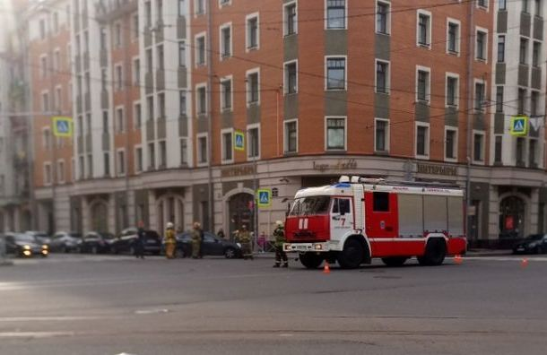 Спешившая навызов пожарная попала вДТП наХерсонской