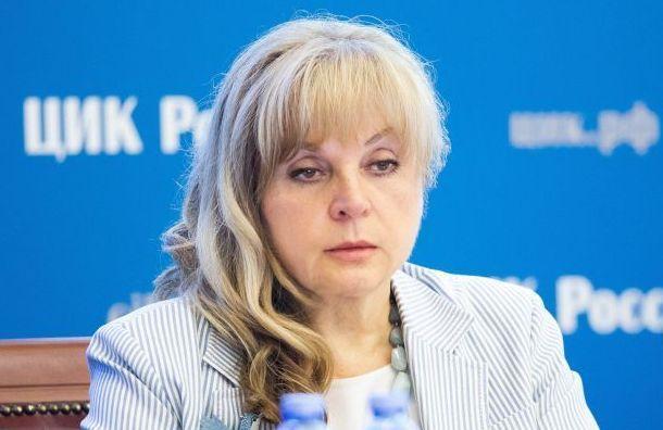 Памфилова обвинила Горизбирком Петербурга вбездействии