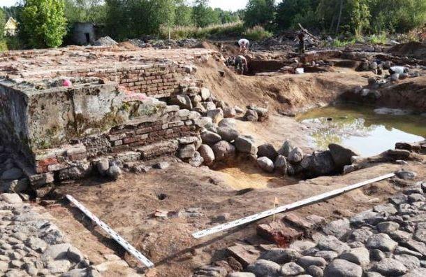 Археологи обнаружили первобытную стоянку наберегу Финского залива