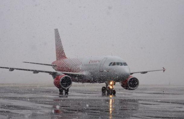 Самолет изНовосибирска вПетербург задержали на14 часов