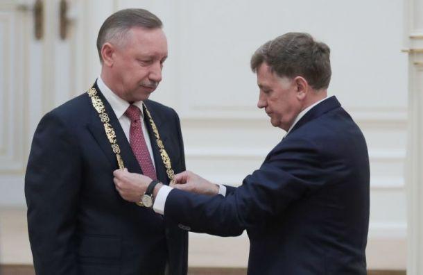 Александр Беглов приехал впарламент напредставление вице-губернаторов