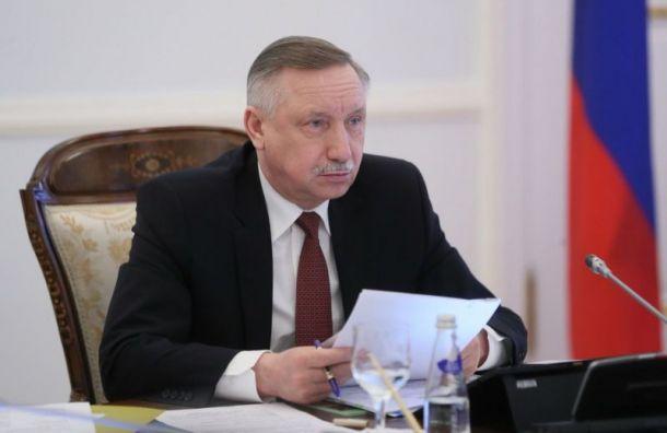 Беглов попросил Смольный учесть предложения его конкурентов навыборах