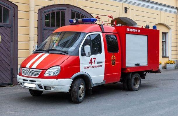Таинственный петербуржец приобрел нааукционе пожарный автомобиль