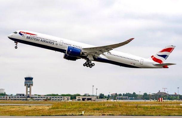 British Airways возобновила сообщение между Петербургом иЛондоном