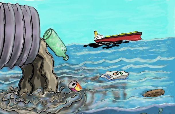 Росприроднадзор возбудил дело после загрязнения речки Красненькой