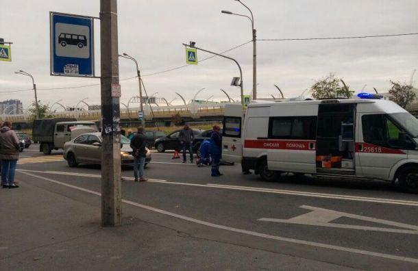 Женщина зарулем Volkswagen сбила пенсионера наКубинской улице