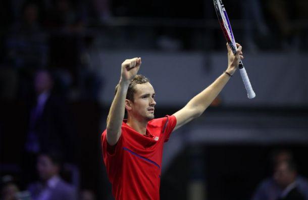 Медведев выиграл St. Petersburg Open