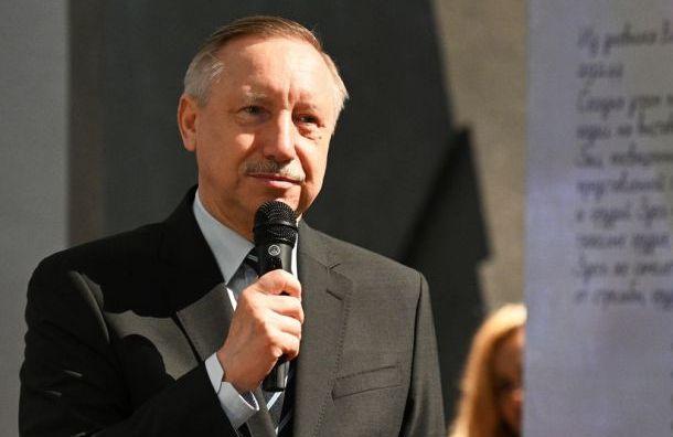 Беглов набрал 64,57% голосов после подсчета 97,13% протоколов