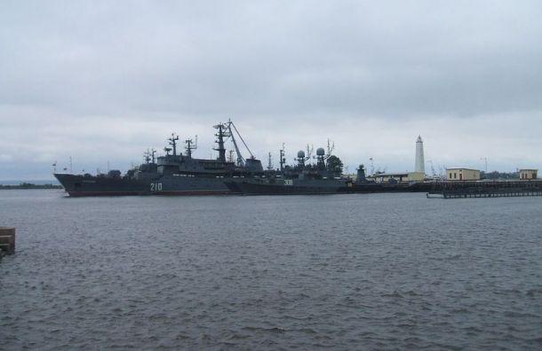 Порт для круизных лайнеров планируют построить вКронштадте