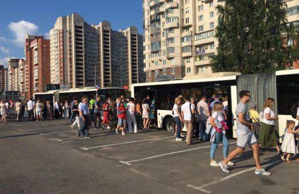 Маршрут автобуса №171 продлили доновостроек