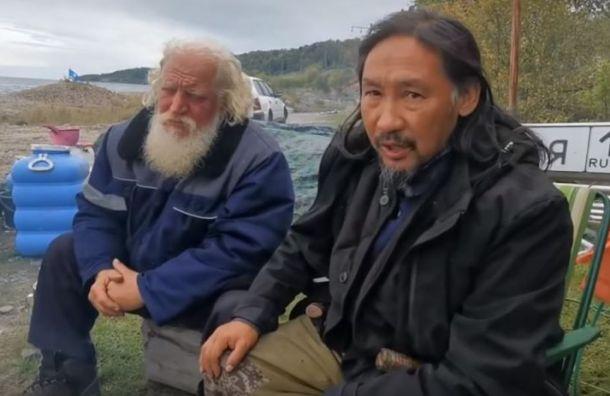 Полиция Бурятии задержала шамана Габышева, шедшего «изгонять Путина»