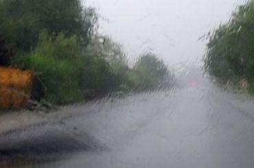 МЧС предупредило петербуржцев осильном дожде ишторме