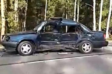 Пенсионер погиб вДТП спрестижным внедорожником под Всеволожском