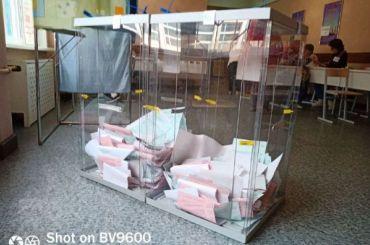 Избирательные участки вПетербурге закрылись
