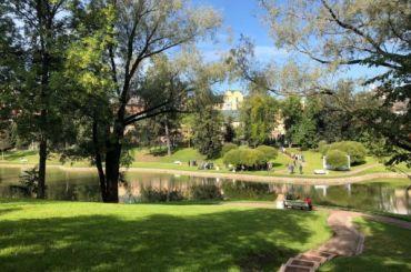 Парк усадьбы Орловых-Денисовых вКоломягах открыли после ремонта