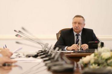 Беглов внес вЗакС кандидатуры вице-губернаторов