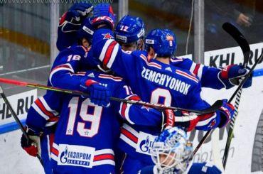 СКА разгромил «Динамо» врегулярном чемпионате КХЛ