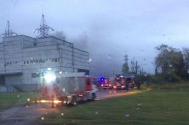 Пожар натранформаторной подстанции наКоммуны локализовали