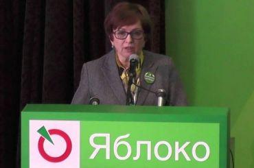 Член ГИК от«Яблока» потребовала признать выборы вПетербурге недействительными