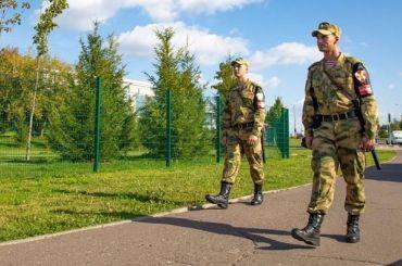 Росгвардеец борцовским приемом повалил прохожего вНовосибирске