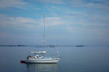 Спасатели получили сигнал SOS стонущей яхты вФинском заливе