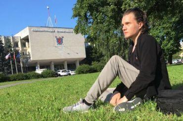 Активиста Павла Чупунова задержали наоткрытии детской площадки