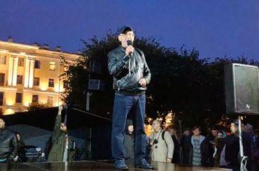 Резник намитинге назвал Беглова губернатором опричников