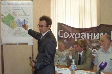 Лидера защитников Пулковской обсерватории задержали из-за агитации