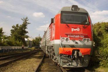 Грузовой поезд сошел срельсов под Выборгом