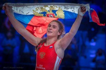 Наталья Воробьева стала двукратной чемпионкой мира поспортивной борьбе