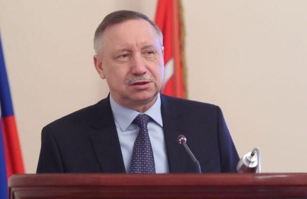 Путин включил Беглова всостав Совета безопасности